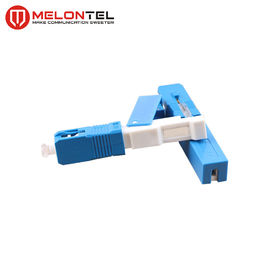Cina 60mm SS Konektor Fiber Optik MT1041, Konektor FTTH Fiber Cable Connect Cepat pabrik