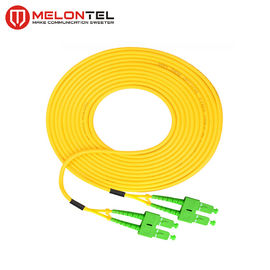 Simplex Fiber Optic Patch Cord MT-S1000, SC Patch Cord Dengan SC-SC APC Connector