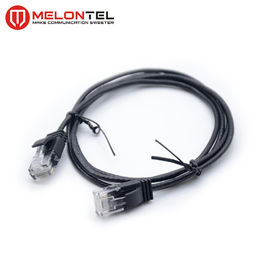 Cina RJ45 Network Patch Cord 4PR Ethernet Cat6 / UTP Dengan Boot MT 5007 pabrik