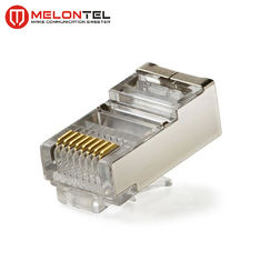 Cina MT-5053B RJ45 Modular Plug CAT.5E Cat.6 8P8C STP Network Patch Cord Plug With Gold Plated pabrik