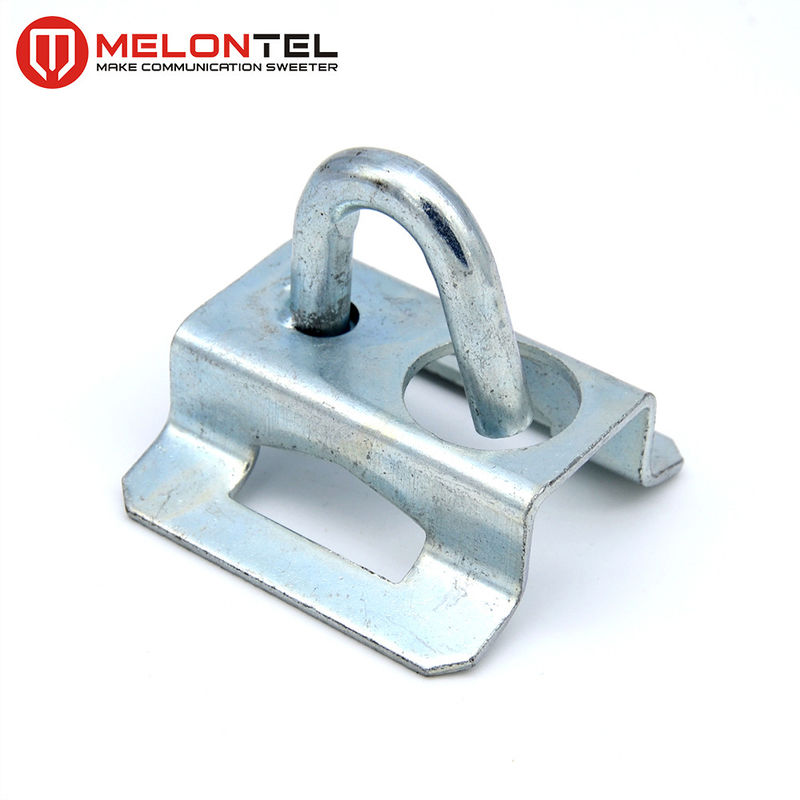 Galvanized Iron FTTH Accessories / Draw Hook Untuk Telegraph Pole Hose Clamps MT1705 pemasok