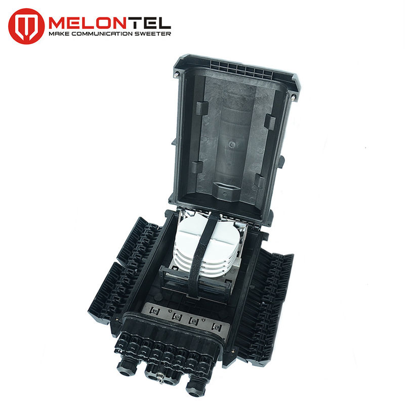 MT 1523 PC Fiber Optic Closure Outdoor 48 Core Anti Aging Kekuatan Mekanik Tinggi pemasok